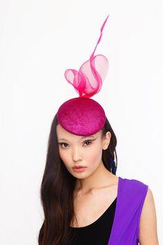 #pink #millinery #hat #neonkids #fascinator #ivaksenevich #asianfashion