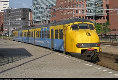 Dutch Railways (NS) Mat 64 EMU at Amersfoort, Netherlands