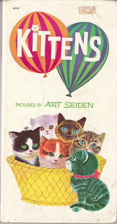 Kittens by Art Seiden 1972 Vintage Board Book Cats | Books, Children & Young Adults, Children's Picture Books | eBay!