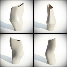 Fawn Ankle Vase - 3ds Max Poly model
