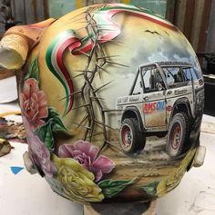 Badass Helmet Art with Gasolineart