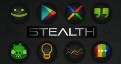 Stealth Icon Pack v4.3.9.apk Free Download