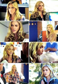 Ellie Bishop- My current favorite character on TV, even though I may be one of about ten people with this same opinion:). Emily Bishop, Emily Wickersham Ncis, Blake Anderson, Ncis Tv Series, Ralph Waite, Lauren Holly, Sean Murray, Female Movie Stars, Actor