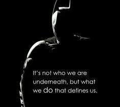 Batman quote WILL be a tattoo soon