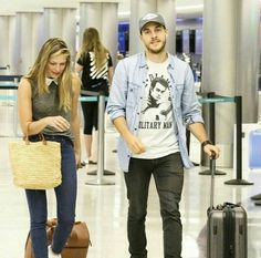 """chris-woods: """""""" wood confusing the airport for a runway """" """" Supergirl Superman, Chris Wood, Girl Memes, Melissa Benoist, Ian Somerhalder, Always And Forever, Celebs, Celebrities, The Flash"""