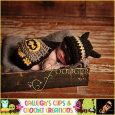 Crochet batman <3 want this by caitlin