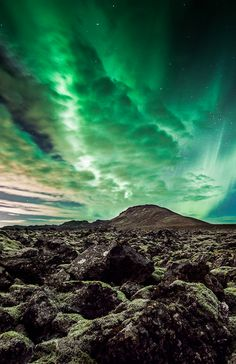 Aurora Lava-field @ Iceland by OZZO Photography