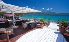 Almara Beach Club, near Tivat, Montenegro Montenegro Tourism, Tivat Montenegro, Vacation Destinations, Vacation Spots, Hot Spots, Beach Club, Summer 2014, Croatia, Coastal