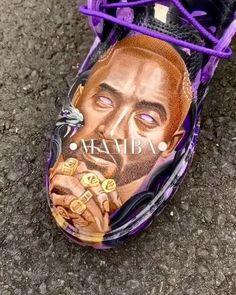 @ultamiciti honoring legends using #JacquardPaints Custom Sneakers, Legends, Painting, Painting Art, Paint, Draw, Paintings