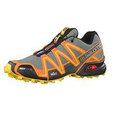 Salomon Herren Trail Running Schuhe Speedcross 3 CS Light TT/Clementine-X/Bee-X 49 1/3 - http://on-line-kaufen.de/salomon/49-1-3-eu-salomon-speedcross-3-cs-herren-3