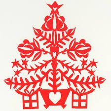 handmade papercut christmas cards - Google Search