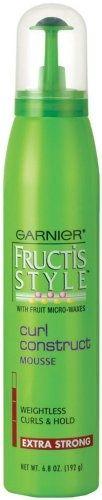 Garnier Fructis Style Curl Construct Mousse, 6.80-Ounce