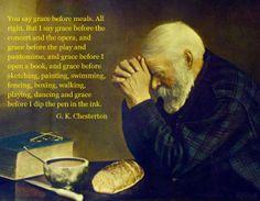 G.K. Chesterton on grace