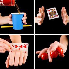 Magic Tricks Videos, Magic Tricks Tutorial, Magic Tricks For Kids, Amazing Magic Tricks, Diy Crafts Hacks, Diy Crafts For Gifts, Fun Crafts, Crafts For Kids, Paper Crafts