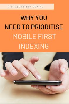 Site owners should prioritise getting their sites ready for comprehensive mobile-first indexing.  Find out why.  #website #mobilefirstindexing #webdesign #responsive #siteaudit #digitalmarketing