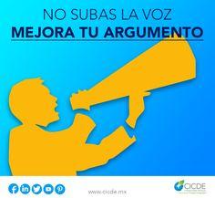 """Si necesitas """"buenos argumentos"""" apóyate en los expertos de CICDE para que ellos te ayuden a interpretar las leyes a tu favor. http://cicde.mx/juridico Ponte en contacto con nuestros asesores, ellos te ofrecerán la mejor solución para tu empresa. #FelizJueves #Abogados #CDMX NO SUBAS LA VOZ, MEJORA TU ARGUMENTO"""