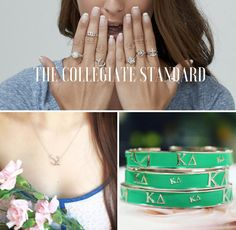 "Have you used your exclusive sorority sugar • The Collegiate Standard Pref Promo Code yet?  Take 25% OFF ALL jewelry at The Collegiate Standard and boost your sparkle wardrobe. Or - save on gifts for your future little! USE CODE: ""SUGARSUMMER"" for 25% OFF. VALID UNTIL: 7/22."
