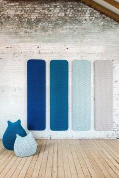 Wool decorative acoustical panel SLUMBER | Decorative acoustical panel by Casalis