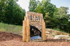 Echo Bluff State Park is located just half of a mile from the Current River in Eminence.