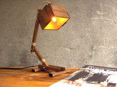 Lovely wooden lamp