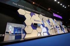 Samsung Techwin - Exhibition Stand on Behance