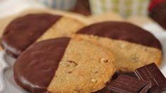 My Sweet Tooth: Pecan Shortbread Cookies Recipe Demo - Joyofbaking.com