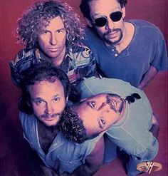 Van Halen with Sammy Hagar - Finally, a lead singer who could write, play guitar, and not try to dominate the stage. In other words - a team player.