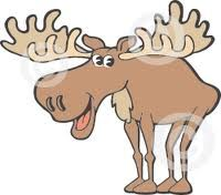 cute moose drawing - Google Search