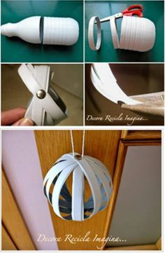 maybe with Christmas lights inside of each bulb? ;)