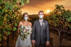 Couple's Wedding Photoshoot Amid Calif. Wildfire Goes Viral: 'Our New Normal' in Wine Country