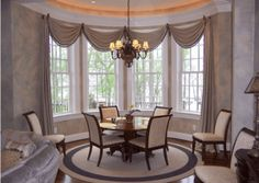 Herlong And Associates  Custom Window Treatments Turquoise And Adorable Window Curtains For Dining Room Design Ideas