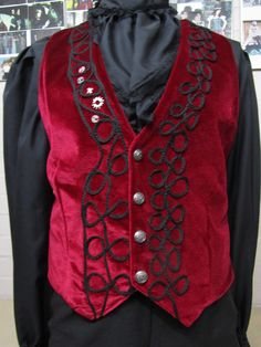 Gothic Men, Menswear, Velvet, Embroidery, Clothing, Sweaters, How To Wear, Fashion, Goth Men