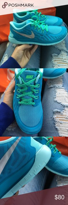 NIKE Free Run 5.0 Brand New! Size 6.5Y or wmns size 8. This is the ultimate light weight running shoe. Nike Shoes Athletic Shoes