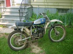 1974 125SC Husqvarna, I found for a friend as a surprise..just as it looked when I rolled it off the truck...