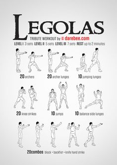 Darebee.com geek workouts