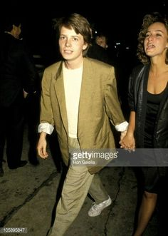Michael J.Fox with Jennifer Grey