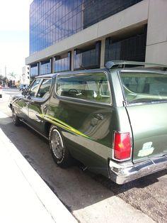 1971 Pontiac GTO  Wagon