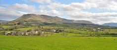 View from Glen View Farmhouse B Sligo Ireland.