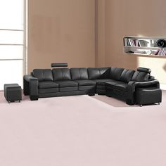 Majestic 6 seater corner sofa with adjustable head rest will also complement many home décor styles well - Corner Sofa Upholstery, Corner Sofa With Ottoman, Ottoman Footstool, Corner Chair, Ottomans, Shabby Chic Lounge, Shabby Chic Salon, Leather Chaise Sofa, Leather Corner Sofa