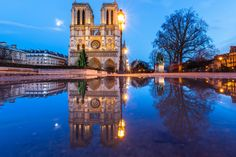 """Real Wet Reflection Notre Dame Paris - THIS IS A REAL WATER REFLECTION: those who think it's fake are wrong and I never edit my photos with PS  Copyright: Loïc Lagarde 2014  <a href=""""http://www.capture-the-world.com"""" rel=""""nofollow"""">My Website</a> - <a href=""""http://www.flickr.com/photos/loic80l"""">My Flickr</a> - <a href=""""https://www.facebook.com/loiclagardephoto"""" rel=""""nofollow"""">My Facebook</a> -  <a href=""""https://plus.google.com/108023614454861008041/posts"""" rel=""""nofollow"""">My Google+</a> - <a…"""