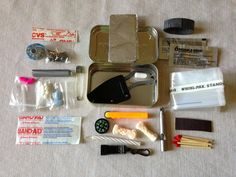 DIY Altoid Tin Survival Kit (Best and most thorough one I've seen so far) Need this for camping or hiking!