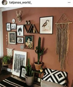 20 Creative Wall Decor Ideas To Make Up Your Home ~ Home Decor Journal - Western Home Decor Living Room Southwest Decor, Southwestern Decorating, Southwestern Bedroom, Western Style, Interior Design Living Room, Living Room Decor, Ethnic Living Room, Creative Wall Decor, Western Homes