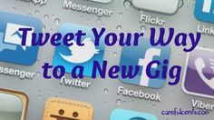 How to effectively tweet your way to a new job