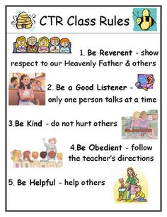 Primary Class Rules & other tips :)