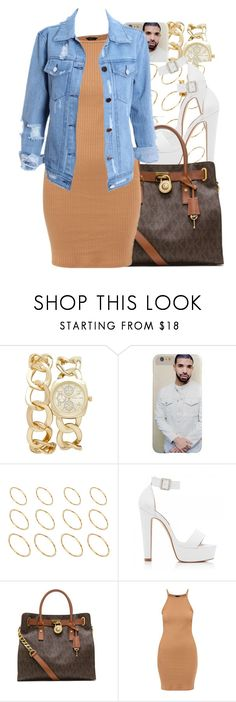 """""""Fetty Wap / 679"""" by nasiaamiraaa ❤ liked on Polyvore featuring Forever New, ASOS, MICHAEL Michael Kors and NanaOutfits"""