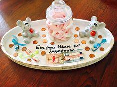 Ein paar Mäuse zur Jugendweihe – Geldgeschenk mal anders – Elly´s Do it yourself