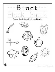 Learning Colors Worksheets for Preschoolers Color Orange Worksheet ...