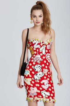 Vintage Moschino Padua Patch Dress | Shop Vintage Goldmine #2 - Moschino at Nasty Gal