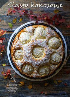 Kulinarne przygody Gatity: Kokosowe ciasto z jabłkami