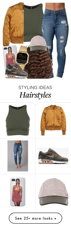 """✨"" by newtrillvibes on Polyvore featuring Onzie, adidas, Nixon and NIKE"